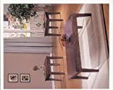 ACME 06159A 3-Piece Chester Coffee/End Table Set, Walnut Finish