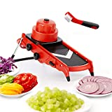 Mandoline Slicer - Kitchen Vegetable Slicer Adjustable Stainless...