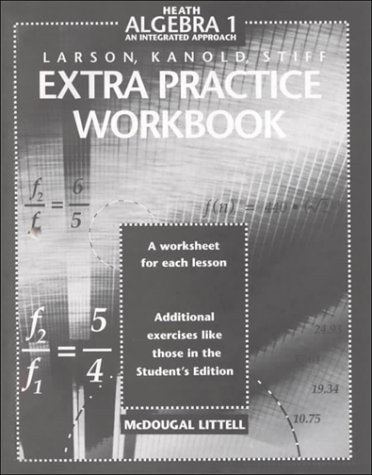 Amazon.com: McDougal Littell High School Math: Extra Practice ...