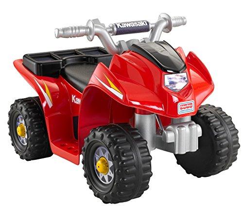 51731b9HRJL - Power Wheels Kawasaki Lil' Quad