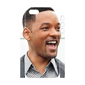 3D Bloomingbluerose Will Smith IPhone 5,5S Cases Will Smith. Actor. Always Having A Good Time. For Men, Iphone 5s Cases For Girls Cheap For Men [White]