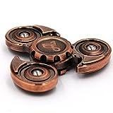 Alquar EDC Fidget Hand Spinner Ancient Eagle Ceramic Bearing Pure Copper Body (Antique Copper) Alquar