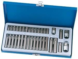 Draper Expert 33614 - Juego de puntas de destornilladores  (35 piezas)