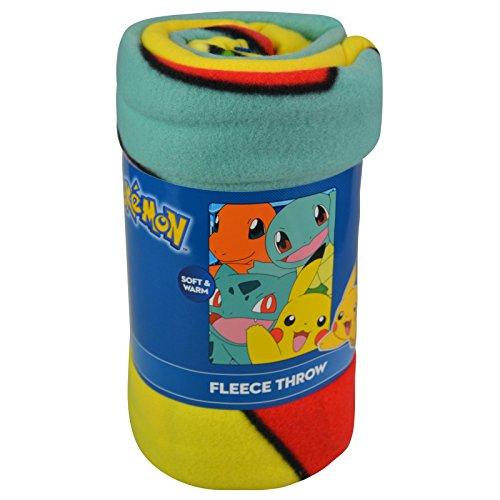 Nintendo-Pokemon-Fleece-Throw-Blanket-45-x-60-inch-Kids-Bedroom-Decor