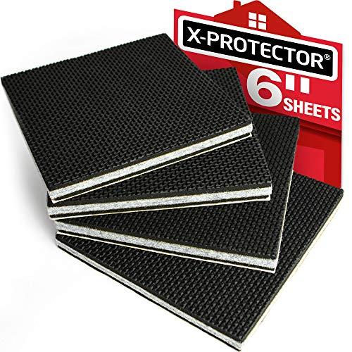 Non Slip Furniture Pads X-PROTECTOR - Premium 4 pcs 6