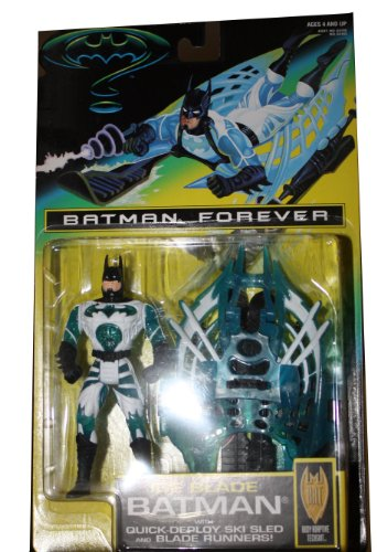 Batman forever ice blade Batman with quick deploy ski sled and blade runners! (Blade Runner Figure compare prices)