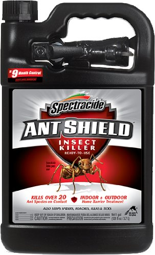 (Spectracide 51301-1 Ant Shield Home Barrier (Pack of 4), 1 gal )