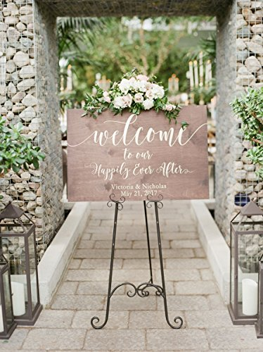 Rustic Wedding Welcome Sign | Wood Wedding Welcome Sign | Welcome Wedding Sign | Wooden Welcome Sign | Wedding Welcome Sign by Sweet Carolina Collective