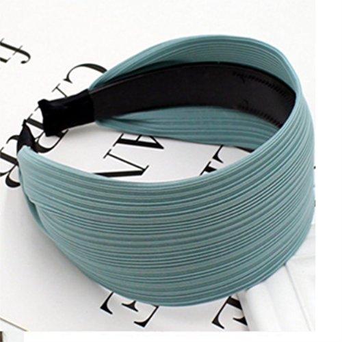 Formato Panno Copricapo Ampio Blu Pelle Polykor Fascia Antiscivolo Fascia Ragazze colore Hoop 6cm Grigio Fascia Diadema Blu Bx6wBYqCA