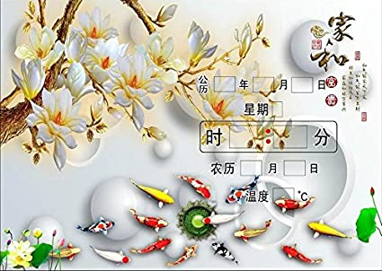 FortuneVin Relojes de Pared Mute Silencioso Cocina Decorativas para el hogar la cocina la oficina la