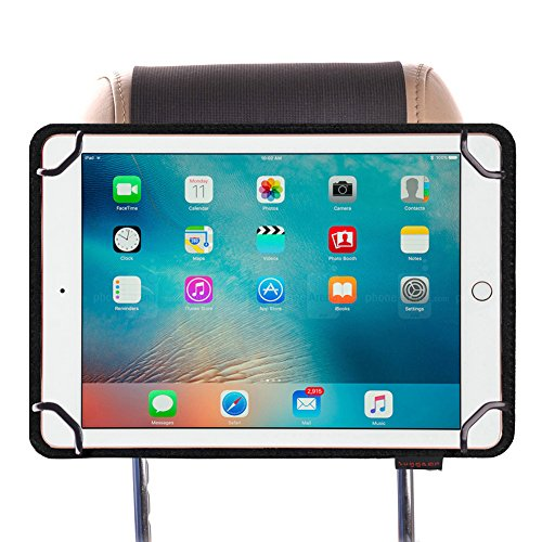 ZugGear Universal Tablet Headrest Mount, Car Headrest Mount for Kids, Lightweight Strap Case Headrest Cradle Car Mount for Ipad Samsung 9.7 inch to 10.5 inch Tablet by ZugGear