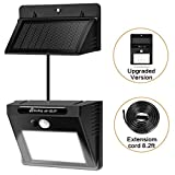 Solar Lights Hiluckey Outdoor Waterproof Security Lights Motion Sensor Solar Wall lights With...