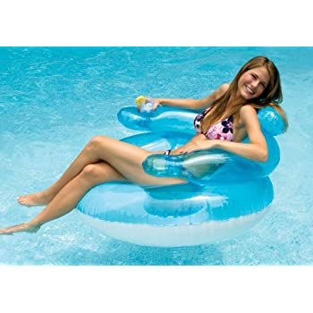 Swimline Bubble Chair Pool Float Lounge Chair