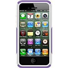 OtterBox Commuter Series Case for iPhone 4/4S  - Retail Packaging - Purple/White (Discontinued by Manufacturer)