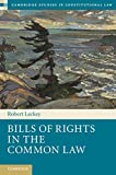Bills of Rights in the Common Law, Leckey, Robert, 1107038537