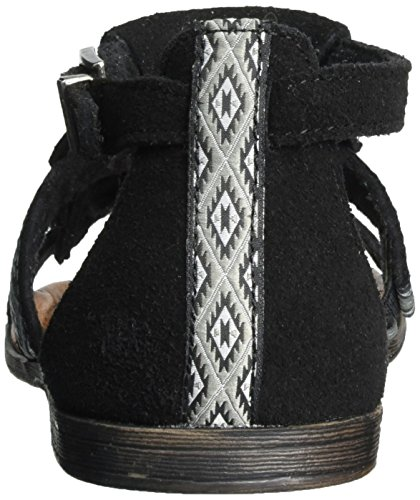 Prin Maui Minnetonka Women's Black Sandal Passport Stillwater Collection wwp5Cq70