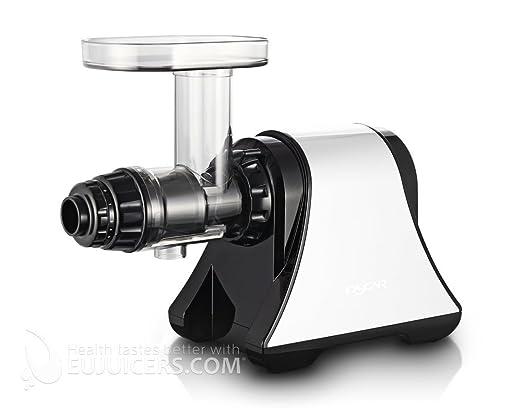 Oscar de 1200-blanco Slow Juicer extractor de jugo a baja ...