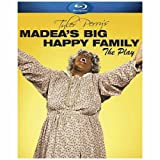 Madea's Big Happy Family: The Play (Blu-ray/WS) Tyler Perry, Shannon Kane, Cassi Davis, Philip Anthony-Rodriguez, Rob Epstein