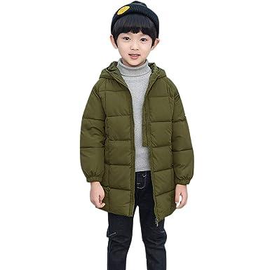 2ba1cbd38209 Amazon.com  WARMSHOP Kids Boys Girls Solid Coat Cloak 1-6T