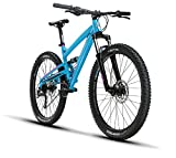 Diamondback Bikes Atroz 2 Full Suspension Mountain Bike Frame, Blue, 16″/Small