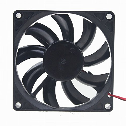 GDSTIME 8cm 80mm X 80mm X 15mm 12v Brushless Dc Cooling Fan by GDSTIME (Image #2)