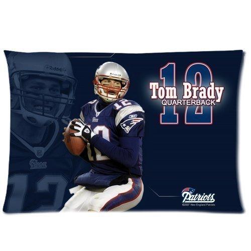 Tom Brady Custom Personalized Rectangle Pillowcase 20X30  Twin Sides