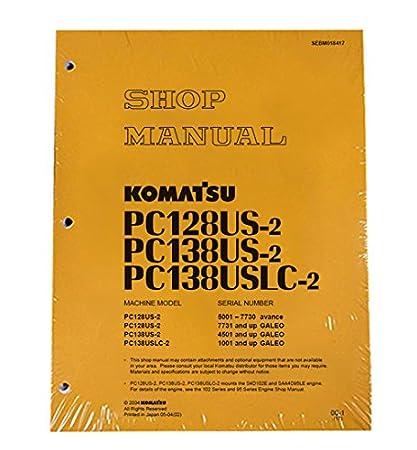 Amazon com: Komatsu PC128US-2, PC138US-2, PC138USLC-2