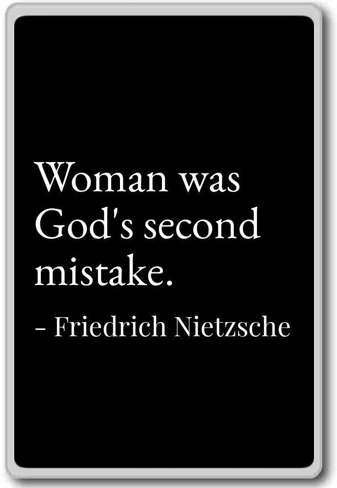 Amazon Woman Was Gods Second Mistake Friedrich Nietzsche