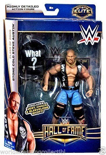 Toy Store - HALL OF FAME Stone Cold Steve Austin WWE MATTEL Elite Collection ACTION FIGURE - New Arrival