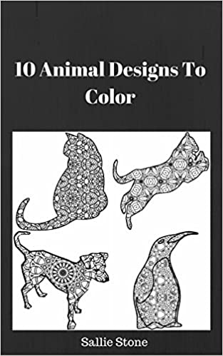 Download PDF 10 Animal Designs To Color