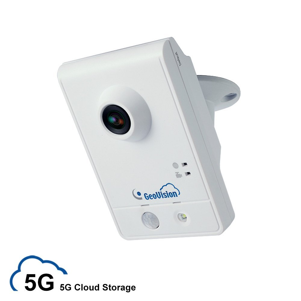 myGVcloud WiFi Wireless HD IP Security Camera with 5GB Life-time Cloud Video Storage and 8GB MicroSD Card (GeoVision GV-HCW120-5G)