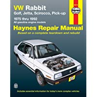 VW Rabbit, Jetta, Scirocco and Pickup, 1975-1992 (Haynes Manuals)