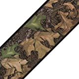 Mossy Oak Camo Leaves Set of 4 Self-Stick Wall Borders