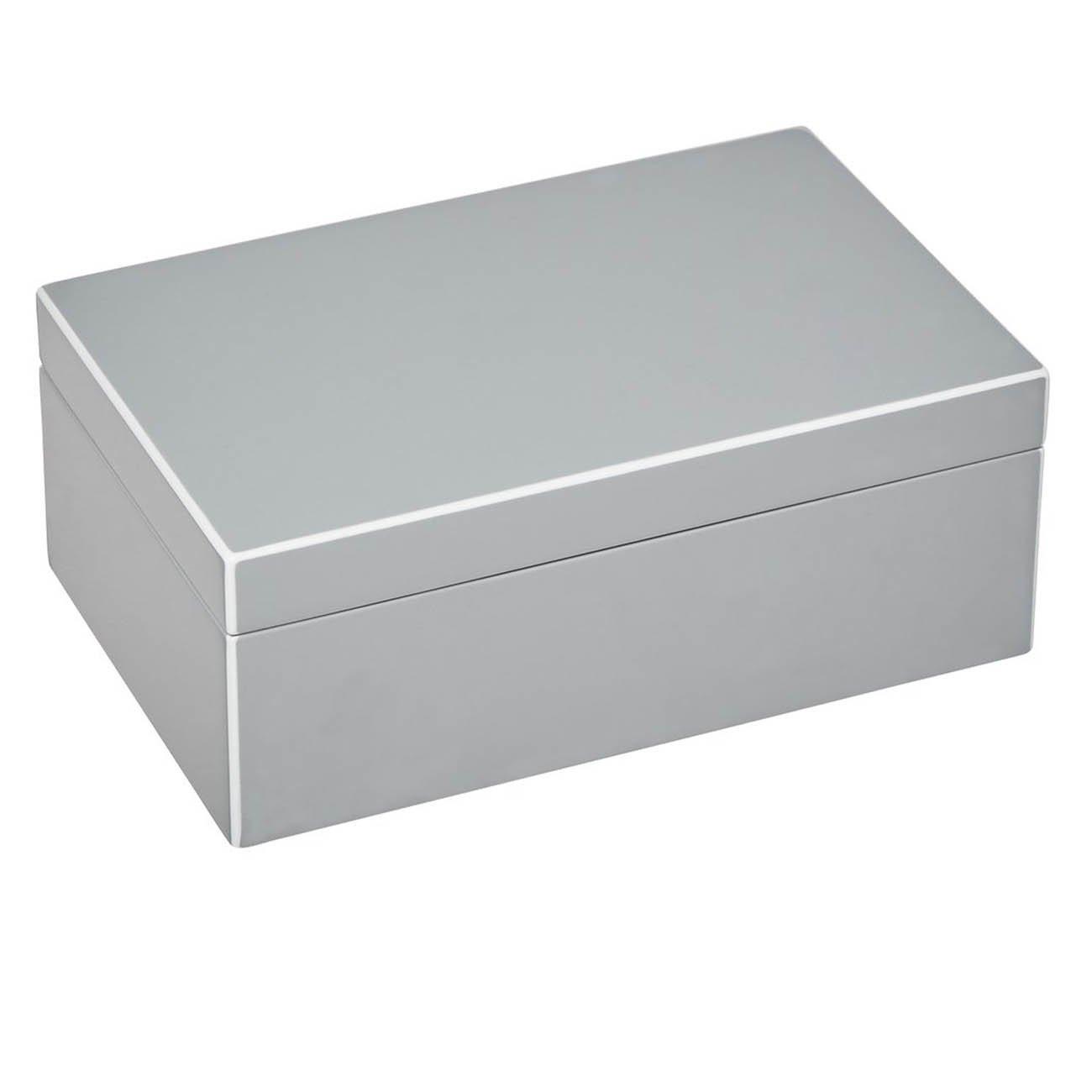 Gift Company 75874 Schmuckbox - Schmuckkasten - Schmuckschatulle - - - Tang - S - Flannel Silber 22 x 14 x 8,3 cm dc286b