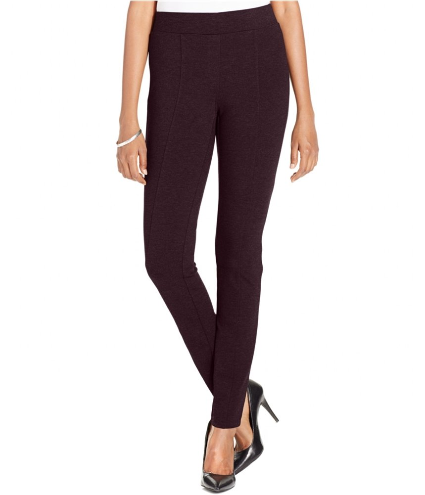 Style & Co. Womens Ponte Casual Leggings driedplum PP/27 - Petite