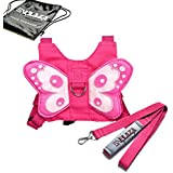 E'Plaza Butterfly Baby Walking Safety Harness Reins Toddler Leash Child Kid Strap (a)