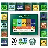 VAHDAM, Detox Tea Sampler, 5 TEAS – Tea Variety Pack | 20 Detox Tea Bags | Anti-Oxidant & Flavonoids Rich Teas for Everyday 100% Natural Detox & Cleanse | Tea Sampler Gift Set Review