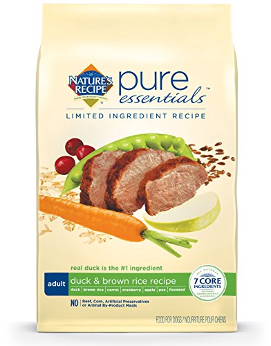 Nature'S Recipe Pure Essentials Adult Duck And Brown Rice, 24 Lb
