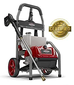 Briggs & Stratton 20680 Electric Pressure Washer 1800 PSI 1.2 GPM with 20-Foot High Pressure Hose, Turbo Nozzle & Detergent Tank (Certified Refurbished)