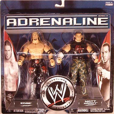 WWE Adrenaline Series 17 2-Pack Edge Vs. Matt Hardy by WWE