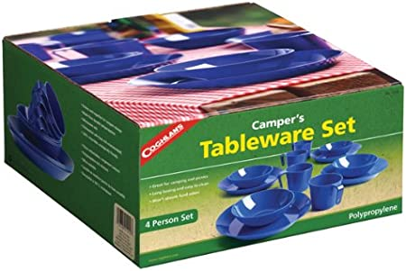 Coghlan's 4-Person Camping Tableware