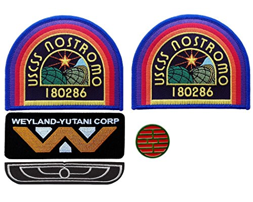 Alien Nostromo Costume Cosplay Patches