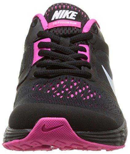 Mujer Foil Fusion Black Zapatillas de Run Wmns Tri Negro para pink Running NIKE White 8wFCOqg