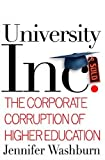 University, Inc., Jennifer Washburn, 0465090516