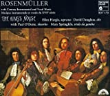 Rosenmuller: 17th Century Instrumental and Vocal Music /Hargis * The King's Noyse * Douglass
