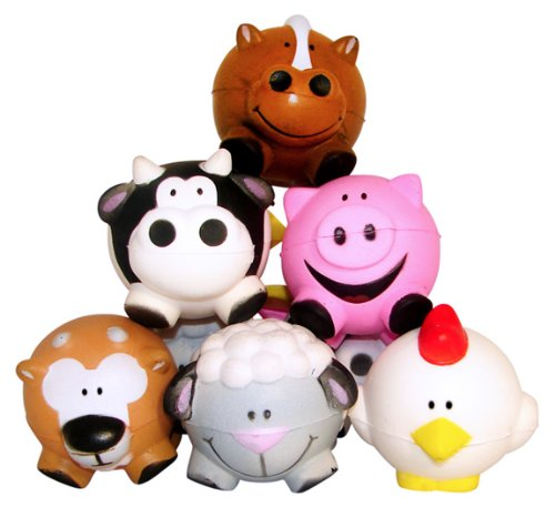 Fun Express Animal Relaxable Balls