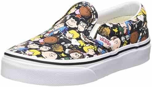 8885573450 Vans UY Classic Slip-On (Peanuts) The Gang Black VN0A32QIOQX Kids