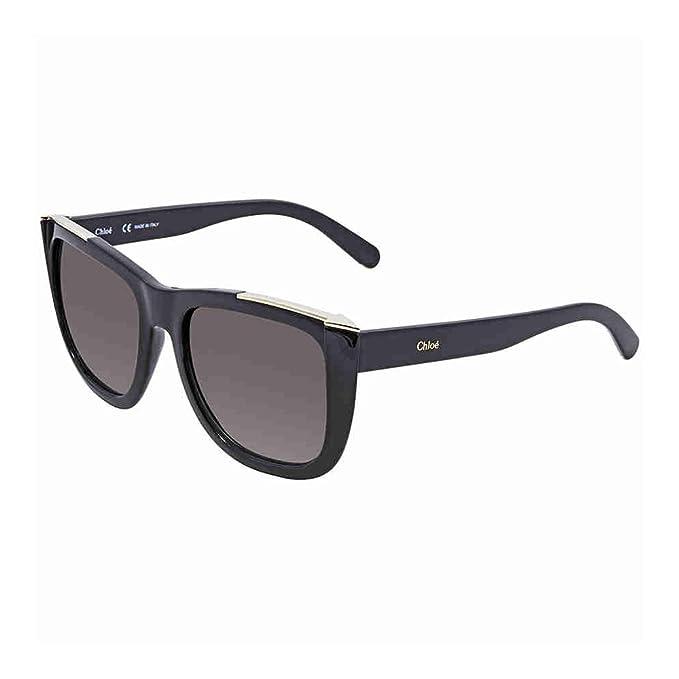 Amazon.com: Chloe Womens Metal Arrow Brow Detail Sunglasses ...