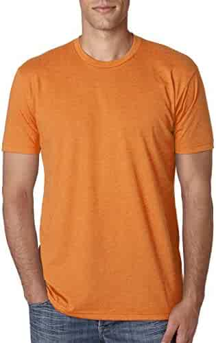 Next Level Apparel N6210 Mens Premium CVC Crew - Orange, Large