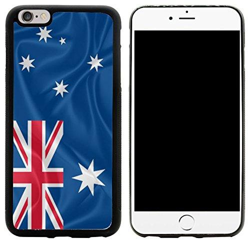 Rikki Knight Hybrid - Carcasa para iPhone 6 Plus y 6S Plus, diseño de Bandera de Australia
